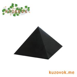 пирамида из шунгита шлифованная 7см
