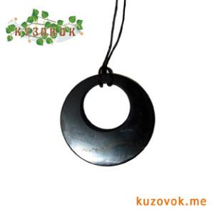 оберег, амулет, талисман, украшение из камня, подвеска черная